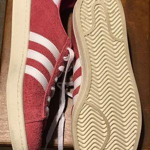 Adidas campus shoe size 9.0 pink